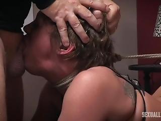 Sexually Broken - Alyssa Lynn And Dee Williams Stripper House