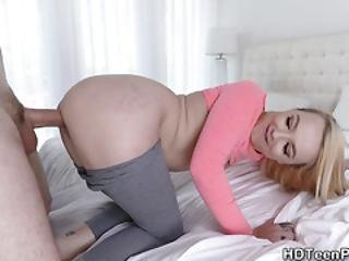 Petite Teen Pounded Doggystyle
