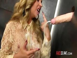 Cream, Cumshot, Facial, Gloryhole, Messy, Sperm
