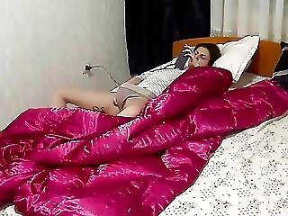 18-latki, Ukryta Kamera, Masturbacja, Orgazm, Podglądacz