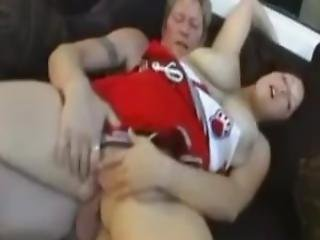 I Fucked This Amorous Chubby Big Babe Cheerleader In The Ass 1