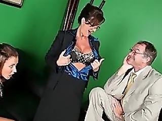 Ledderman Copulates Sara And Bristhole Paelin
