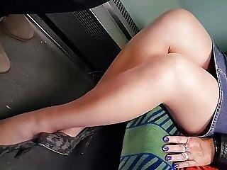 Pantyhose Mature Legs