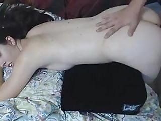 Horny White Chick Fuck Hard By A Big Cock
