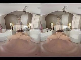 Anna Rose Enjoys Vr Masturbation And Sex