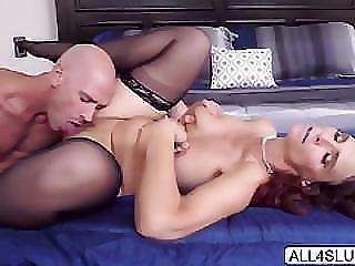 Big Tits Milf Syren De Mer Seduces Hot Groom Johnny Sin And Blows His Cock