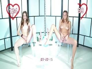 Owc. Orgasm World Championship%3A Nedda Y Vs Katya Clover