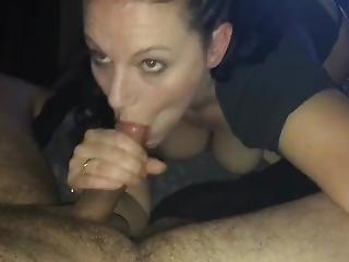 Pov Slut Deepthroating My Huge Cock