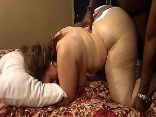 Brunette Milf Gets Fucked Hard By Big Black Cock