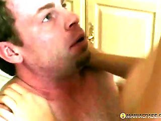 The Girl In The Kitchen Fucks With Guy