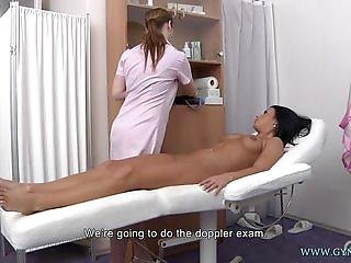 Anal, Fetish, Gyno, Hospital, Lesbisk, Sex, Spyt, Uniform