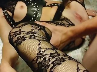 Mistress Lets Slave Fuck Her Hard And Cum Inside Her