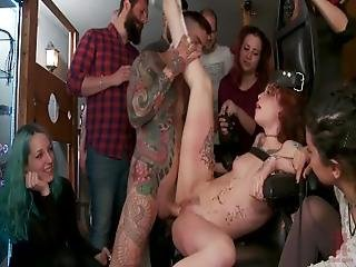 Lilyan Red Is Milked%2C Tormented%2C And Fucked Hard By Mona Wales