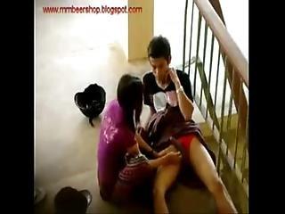 Nepali Couple Public Play Horny Girl