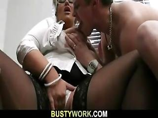 Blonde Bbw Sucks And Rides Customer%5C%27s Cock