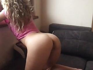 College Teen With Tight Ass Fucked By Huge Cock ( Legs Shaking Orgasm )
