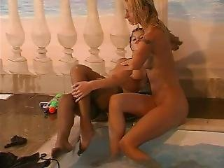 Wet Lesbian Girls In Pool Part 7