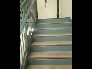 Staircase Fuck With The Queen