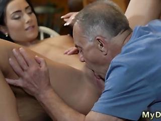 Teen Needs Distraction Saw His Perky And His Girlchum