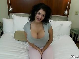 Huge Tits Raven Haired Milf Pov Hardcore Fucking