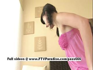 Tasha Attractive Naughty Girl Teasing Pussy