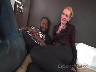 Skinny Mom Gets Pounded By Mandingo