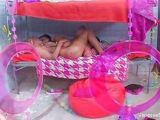 Babe, Rubia, Morena, Sexando, Cárcel, Lesbianas, Lingerie, Masturbación, Pornstar, Jugetes