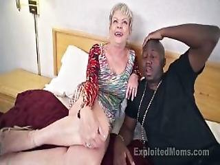 Busty Granny In Creampie Video