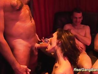 German Swinger Party Fuck Orgy