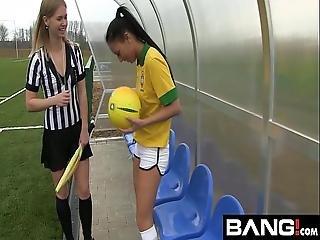 Bang.com Scissoring Lesbian Teens