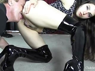 Ass Cleaning Slave