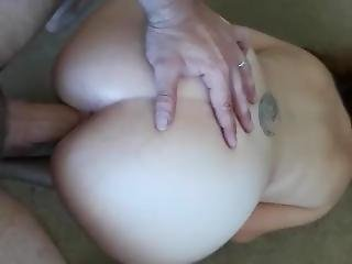 Young Pawg In Pantyhose Has Pussy And Ass Dominated. Huge Cumshot Ending!