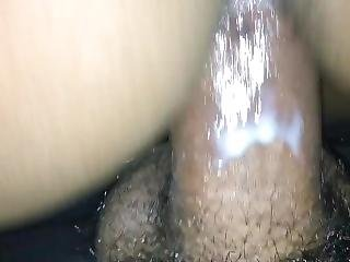 Soaked Teen Girlfriend Rides Black Cock