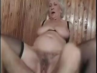 Young Cock For A Horny Granny