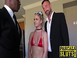 Pascals Subslut Lisey Sweet Ass Stretched With Bbc