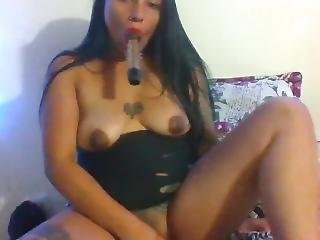Show De MasturbaciÓn Para Ti ( CoÑo Mojado ) Masturbation Show For You (wet