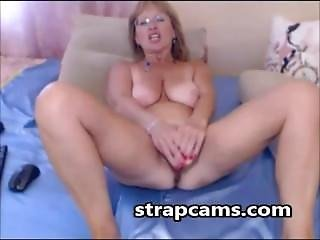 Blonde, Masturbation, Mature, Nice Tits, Webcam