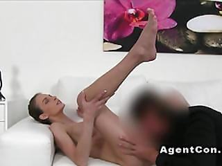 Hot Fake Big Tits Babe Fucks In Casting