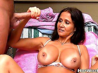 Sexy Wife Rio Threatening-threatening Cook Jerking Filmów Porno W Hd