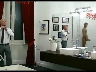 Fabrizio Corona Italian Hung Dick In The Shower In The Movie Videocracy