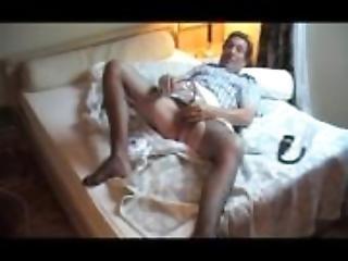 transvestite pantyhose sounding urethral pumping sextoy 87