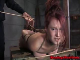 bdsm, puta, bondage, dominação, extrema, fetishe, amarrada, kinky, sapatada, ruiva, rude, sexo, espancar, submissa, Adolescentes, atada