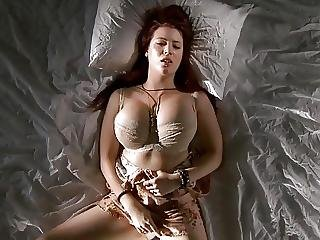 grosse titten, titte, fingern, onanieren, orgasmus