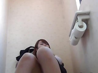 asiatique, bonasse, fétiche, japonaise, masturbation, collants, bas collants, solo, toilettes, bizarre