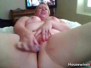 Pawg Housewife Pussy Masturbating