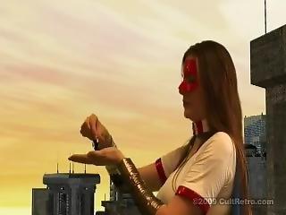 Giantess Attacks City