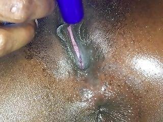 Vibrator On Clit Hd Close Up Booty Hole