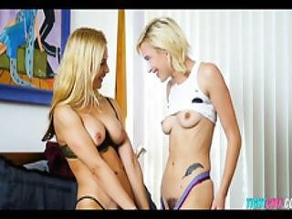 Blonde Lesbians Old Vs Young