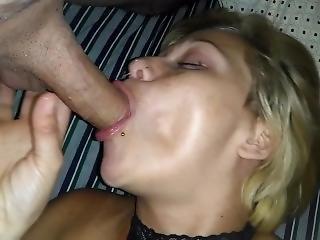 Hot Girlfriend Sucks Her Cucks Tiny Dick Expressing Her Need For Bbc