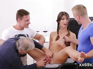 Doctor Looks Perky Check-up And Virgin Teenie Plowing